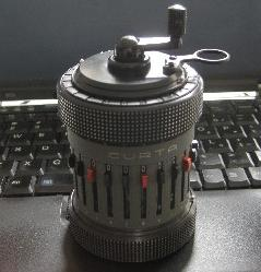 The Curta II machine